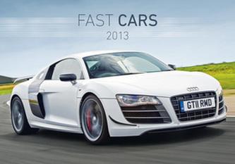 Fast cars - nástěnný kalendář 2012