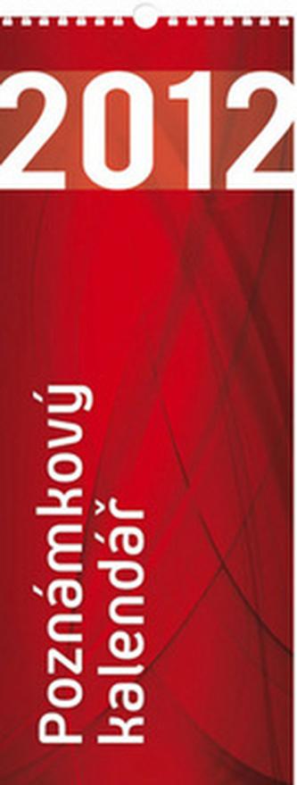Poznámkový 2012 - nástěnný kalendář
