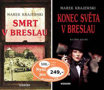 Balíček 2ks Smrt v Breslau + Konec světa v Breslau