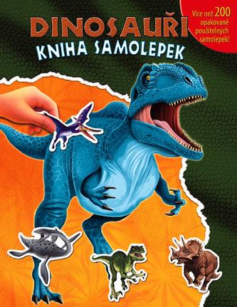 Dinosauři Kniha samolepek