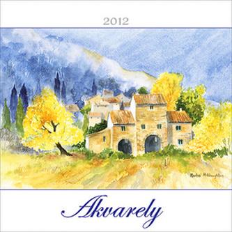 Akvarely - nástěnný kalendář 2012