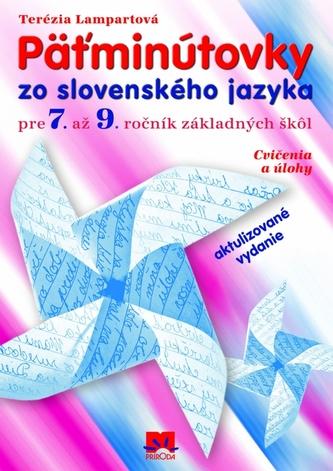 Päťminútovky zo slovenského jazyka pre 7. – 9. ročník základných škôl - 2. vydanie