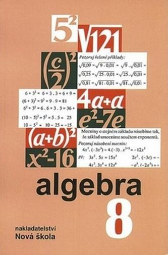 Algebra 8 učebnice