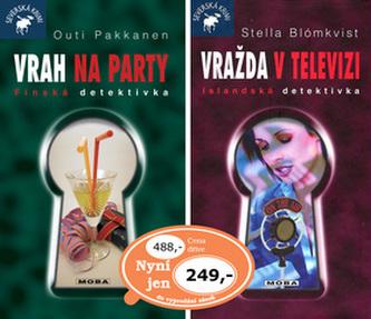 Balíček 2ks Vrah na party + Vražda v televizi