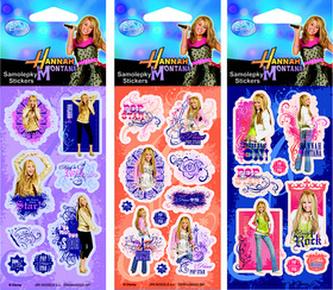 Samolepky Hannah Montana