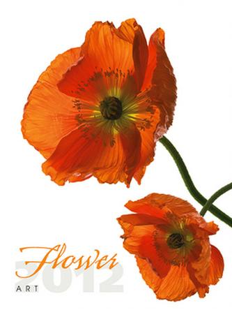 Flower Art - nástěnný kalendář 2012