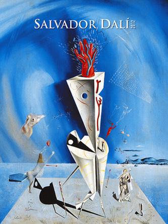 Salvador Dalí - nástěnný kalendář 2012