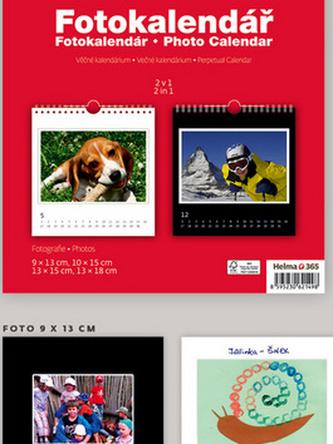 Fotokalendář - nástěnný kalendář