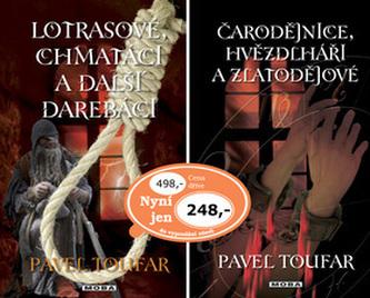 Balíček 2ks Lotrasové, chmatáci + Čarodejnice, Hvězdlháři...