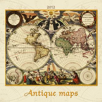 Antique maps - nástěnný kalendář 2012