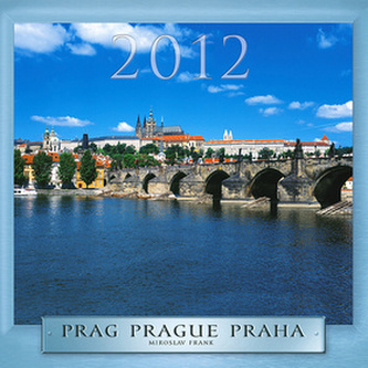 Praha - nástěnný kalendář 2012