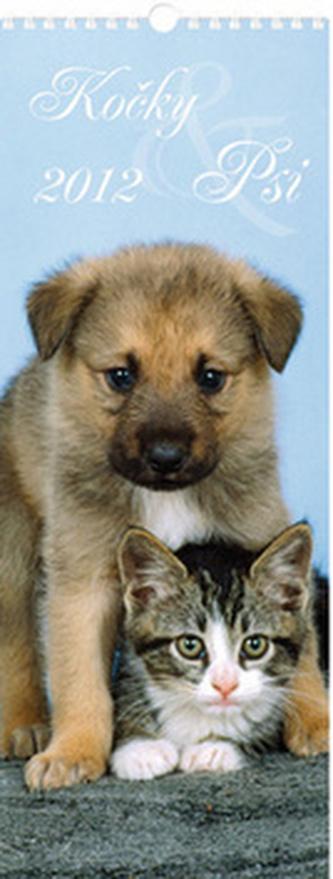 Psi a kočky 2012 - nástěnný kalendář