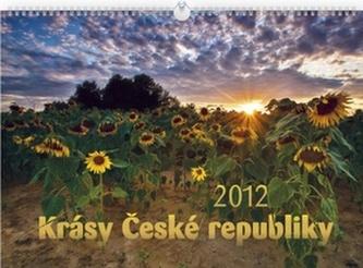 Krásy České republiky - nástěnný kalendář 2012