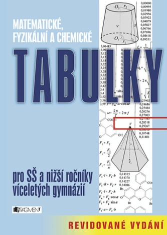 Matematické, fyzikální a chemické tabulky pro SŠ a nižší ročníky víceletých gymnázií - Náhled učebnice
