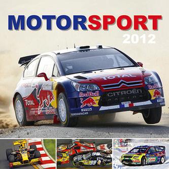 Motor sport - nástěnný kalendář 2012