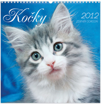 Kočky 2012 - nástěnný kalendář