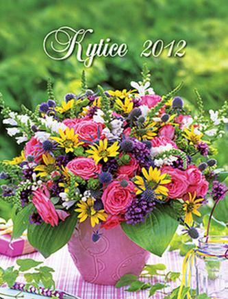 Kytice - nástěnný kalendář 2012