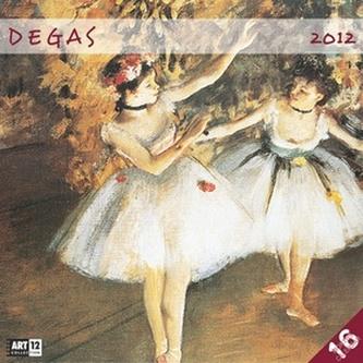 Edgar Degas - nástěnný kalendář 2012