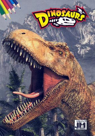 Dinosaurs - omalovánky