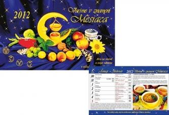 Vaříme v znamení měsíce - stolní kalendář 2012