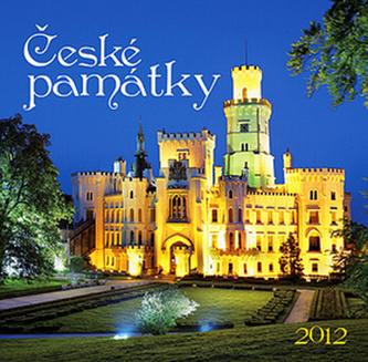 České památky - nástěnný kalendář 2012