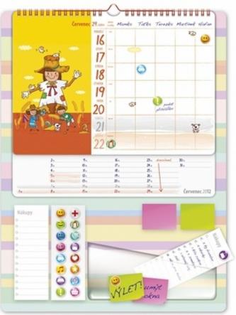 Maminčin plánovač - nástěnný kalendář 2012