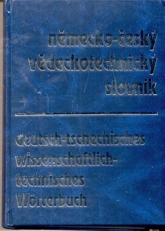 Německo-český vědeckotechnický slovník
