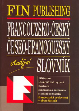 Francouzsko - český, Česko - francouzský slovník studijní