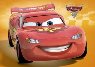 Autá Blesk 2 McQueen (oranžová)