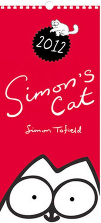 Simon´s cat 2012 - nástěnný kalendář