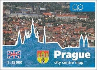 Prague city centre map