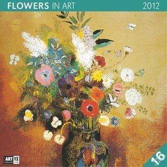 Květiny v umění - nástěnný kalendář 2012