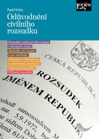 Odůvodnění civilního rozsudku
