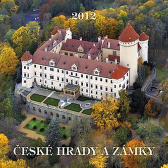 České hrady a zámky - nástěnný kalendář 2012