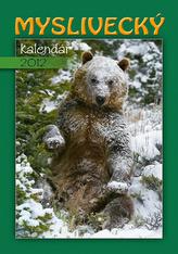 Myslivecký kalendář - nástěnný kalendář 2012