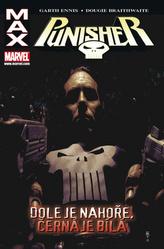 Punisher Max 4: Dole je nahoře, černá je bílá