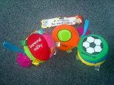 Barevné míčky