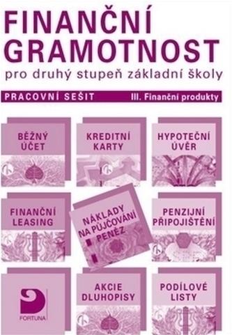 Finanční gramotnost pro druhý stupeň základní školy