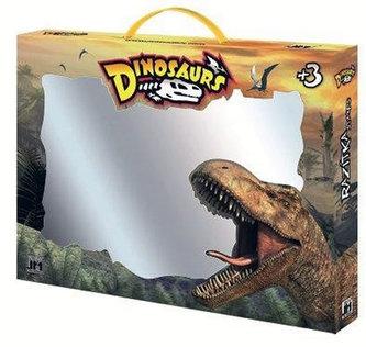 Dinosaurus - razítka v kufříku