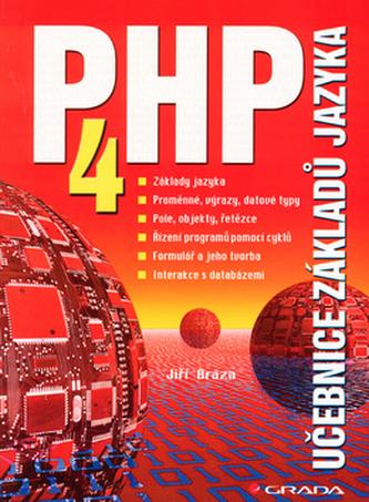 PHP 4 učebnice základů jazyka