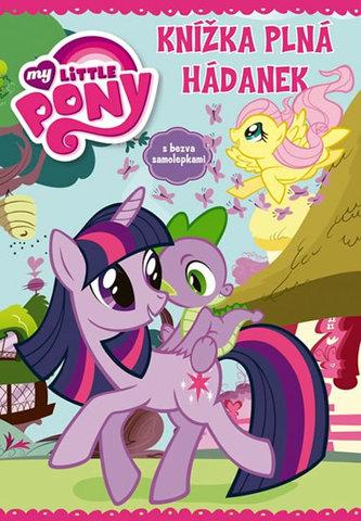 My Little Pony Knížka plná hádanek se samolepkami