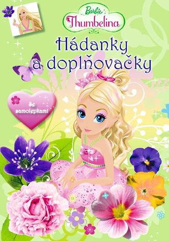 Barbie Thumbelina Hádanky se samolepkami