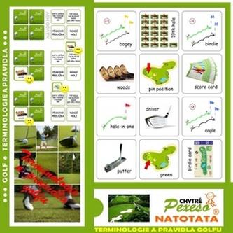 Pexeso Natotata Terminologie golfu