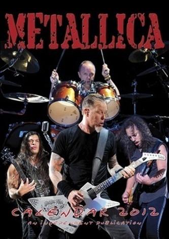 Metallica 2012 - nástěnný kalendář