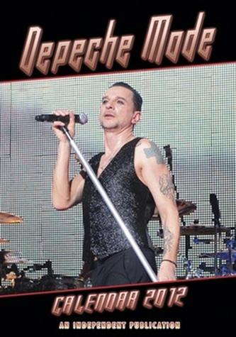 Depeche Mode 2012 - nástěnný kalendář