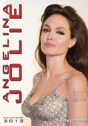 Angelina Jolie 2012 - nástěnný kalendář