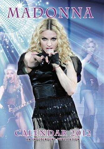 Madonna 2012 - nástěnný kalendář