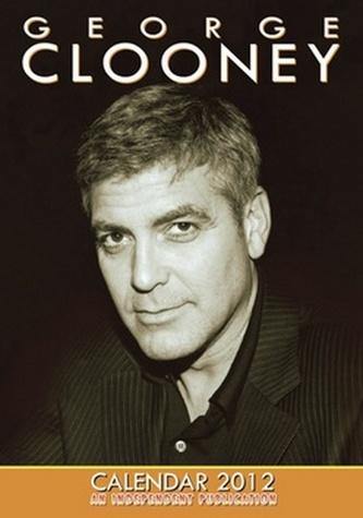 George Clooney 2012 - nástěnný kalendář