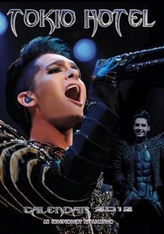 Tokio Hotel 2012 - nástěnný kalendář
