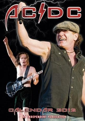 AC/DC 2012 - nástěnný kalendář